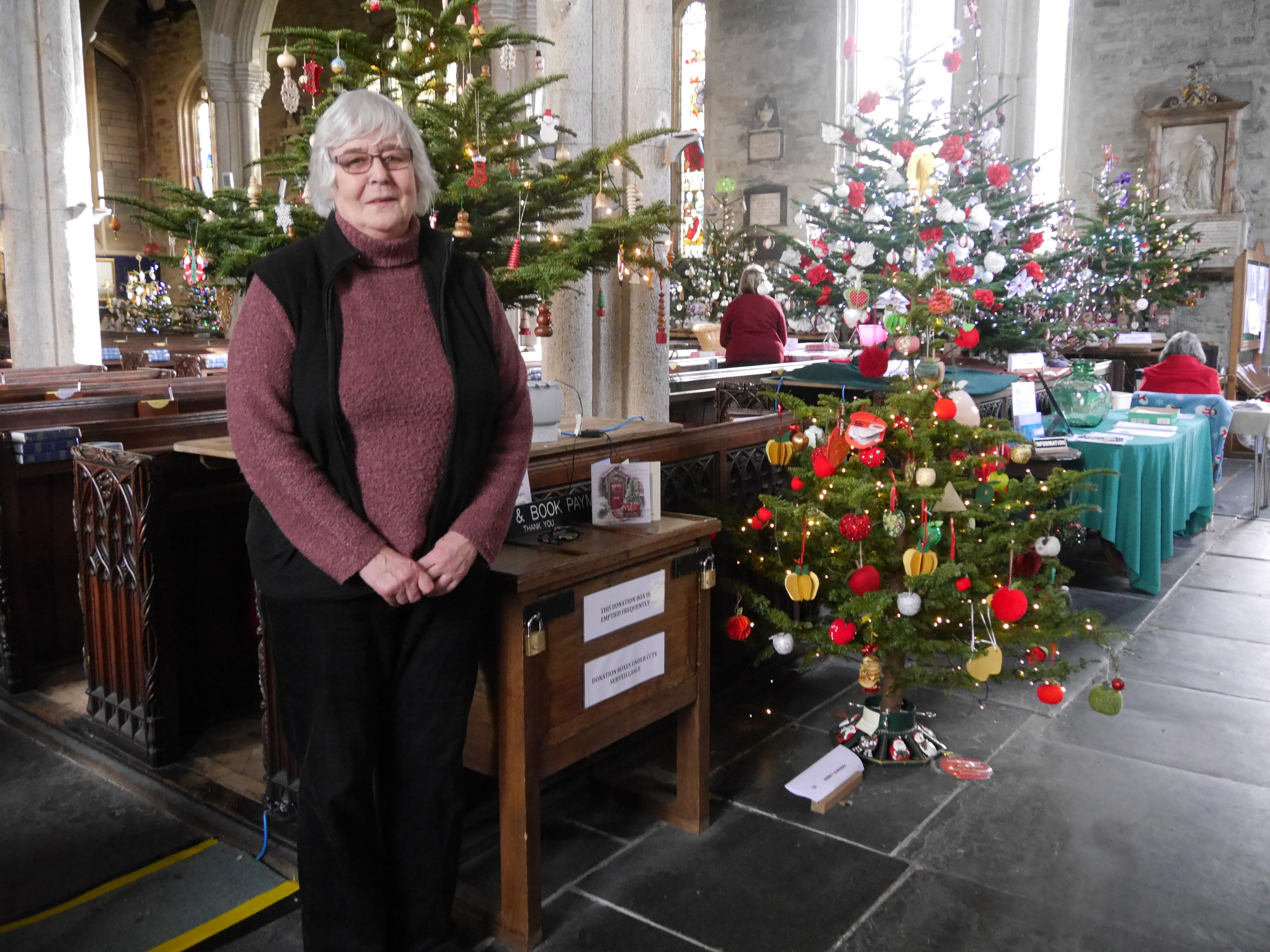 TWO Records Were Broken At Tavistock Parish Churchu0027s Ninth Annual Christmas  Tree Festival U2013 The Number Of Visitors, Estimated At 11,500, And The Amount  ...