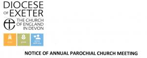 Notice of Annual Parochial Church Meeting (APCM) 2021