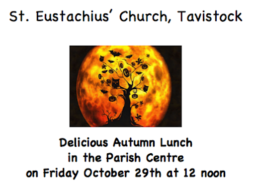 Autumn Lunch Friday 29th Oct